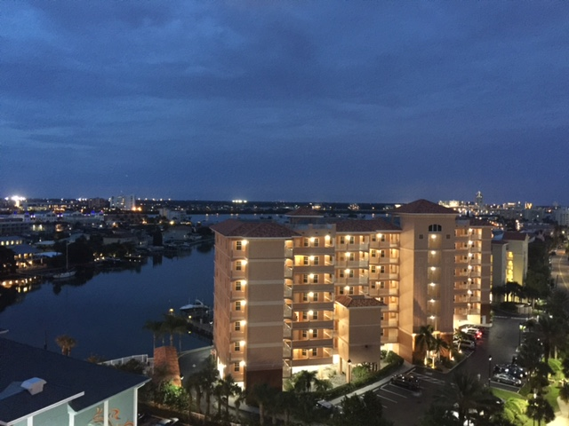 Harborview Grande Night views