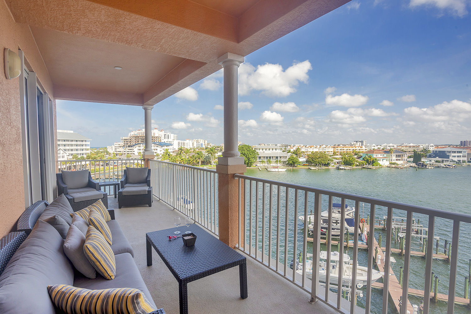300 Sq Ft Balcony With Harbor Views